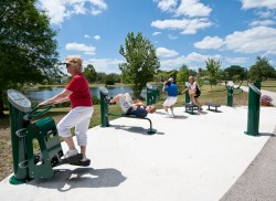 View Lake Island Fitness Trail Project
