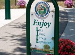 Lake Island Fitness Trail