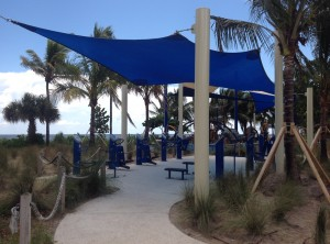 Pompano Beach with USA-Shade