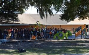 Matthew's Hope Playground Volunteers