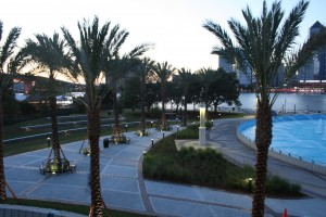 Friendship Fountain Park, Jacksonville Florida