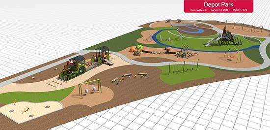Depot Park Playground