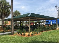 View Fitness Park with Shade Addition Project