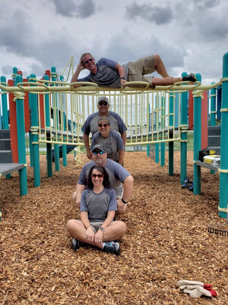 Principals celebrate 10 years of playground builds during NAESP