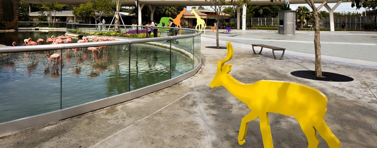 Miami Zoo Plaza